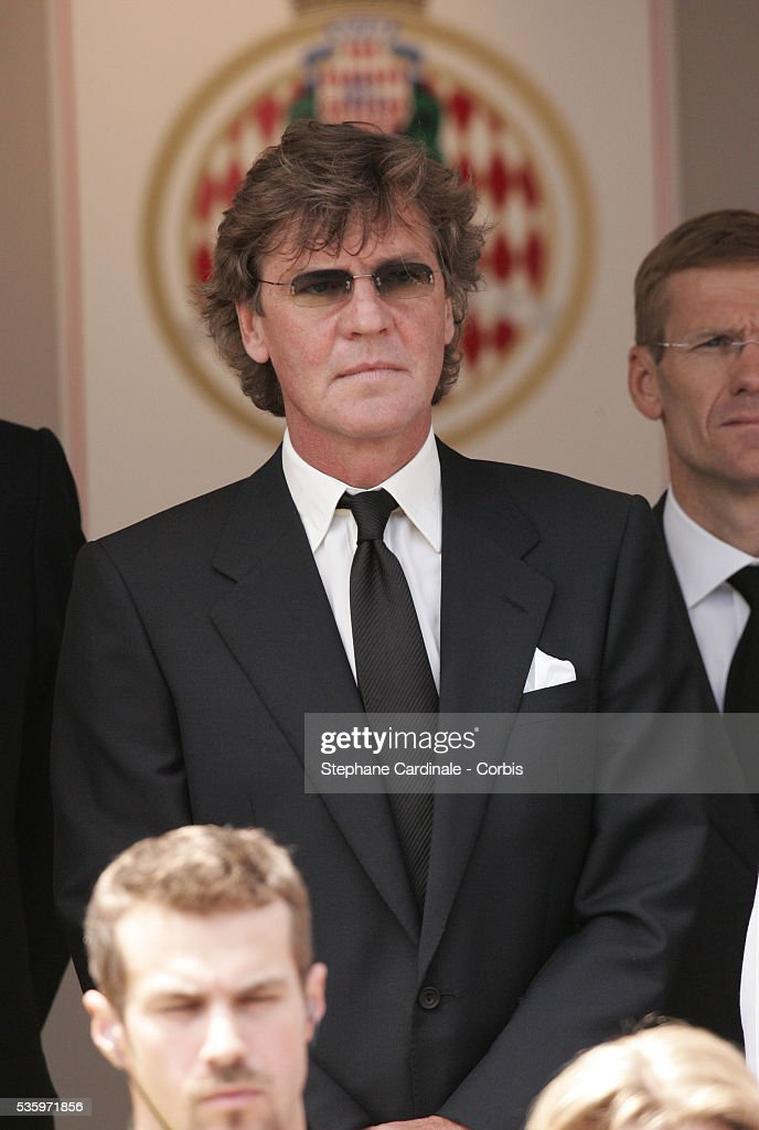 Prince Ernst August of Hanover attends a Tribute to Prince Rainier III at the 63rd Monaco Grand Prix.