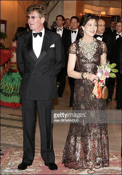 Prince Ernst August of Hanover Princess Caroline of Hanover in Monaco on March 24 2007