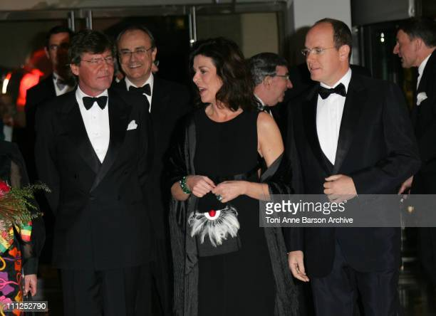 HSH Prince ErnstAugust of Hanover Princess Caroline of Hanover and HSH Prince Albert II