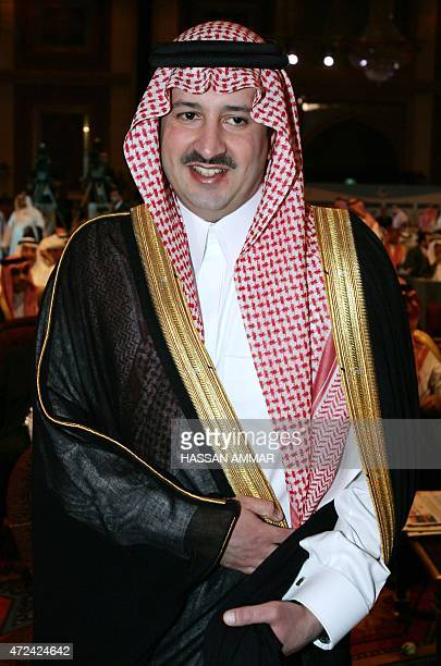 Prince Faisal son of Mecca's governor Prince Abdul Majid bin Abdul Aziz arrives to the opening of Jeddah Economic Forum in the Red Sea 24 February...