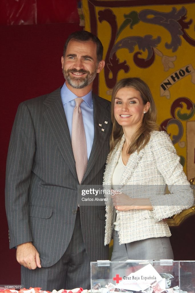 Spanish Royals Attend Red Cross Fundraising Day 2012