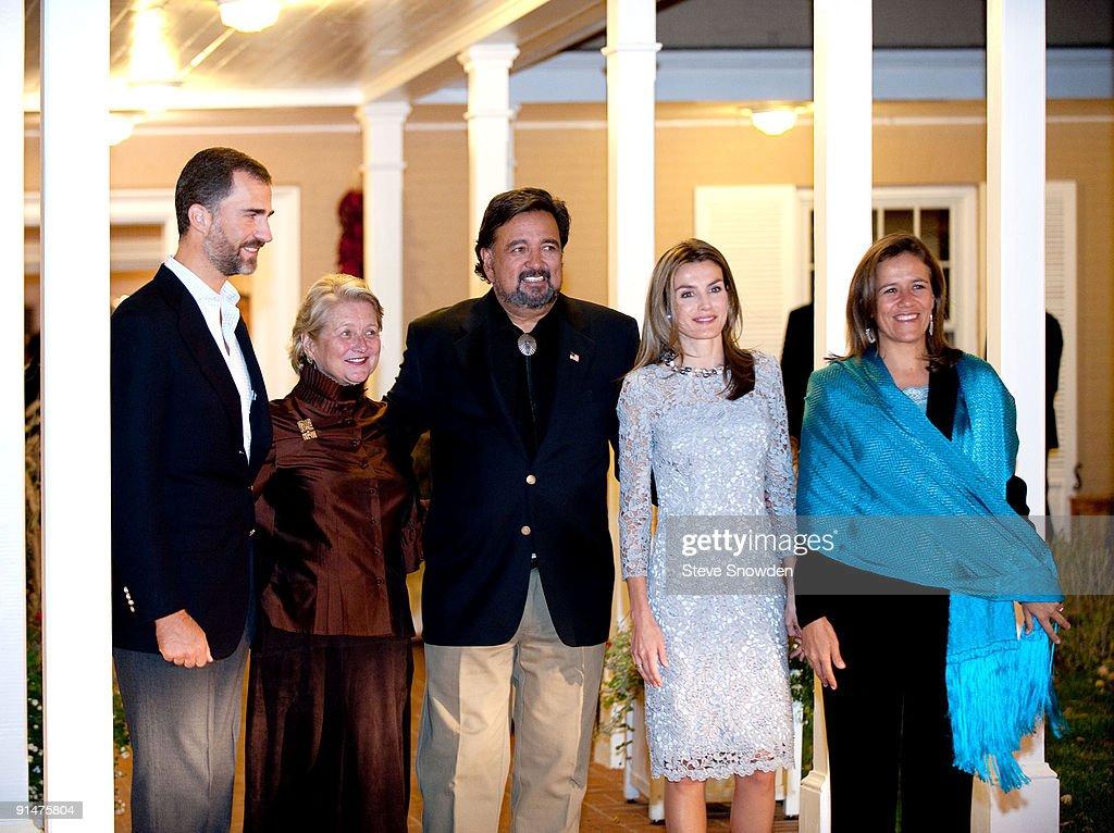 Spanish Royals Commemorate Santa Fe, New Mexico's 400th Anniversary