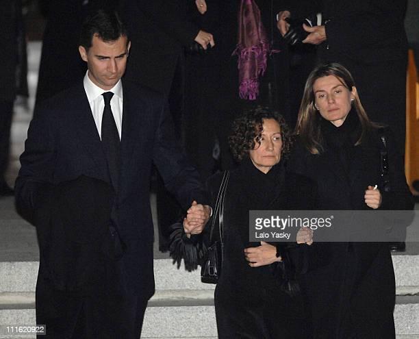 Prince Felipe Paloma Rocasolano and Princess Letizia