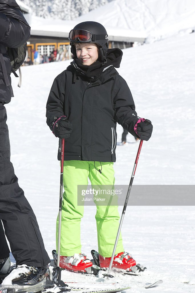 <a gi-track='captionPersonalityLinkClicked' href=/galleries/search?phrase=Prince+Felix+of+Denmark&family=editorial&specificpeople=2084953 ng-click='$event.stopPropagation()'>Prince Felix of Denmark</a> poses during an annual family skiing holiday on February 13, 2013 in Villars-sur-Ollon, Switzerland.