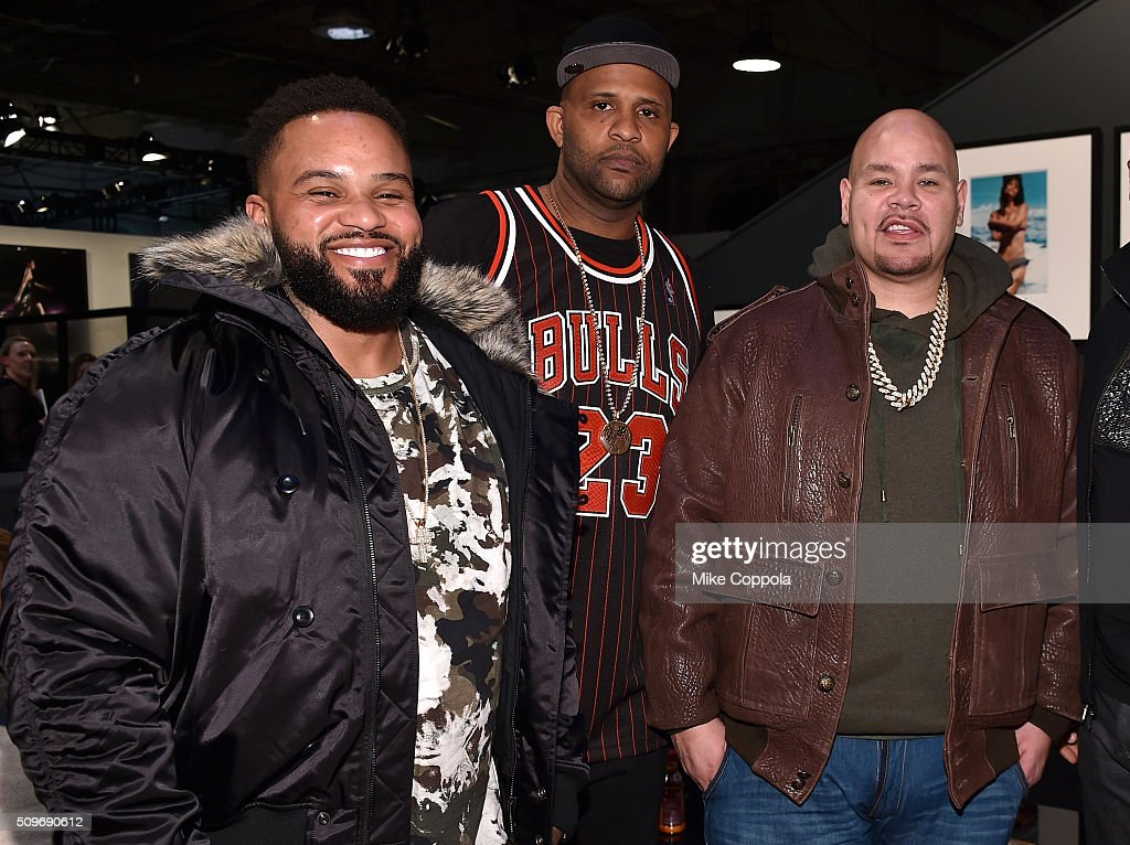 <a gi-track='captionPersonalityLinkClicked' href=/galleries/search?phrase=Prince+Fielder&family=editorial&specificpeople=209392 ng-click='$event.stopPropagation()'>Prince Fielder</a>, CC Sabathia, and <a gi-track='captionPersonalityLinkClicked' href=/galleries/search?phrase=Fat+Joe&family=editorial&specificpeople=201584 ng-click='$event.stopPropagation()'>Fat Joe</a> attend day 1 of Fall 2016 New York Fashion Week: The Shows on February 11, 2016 in New York City.