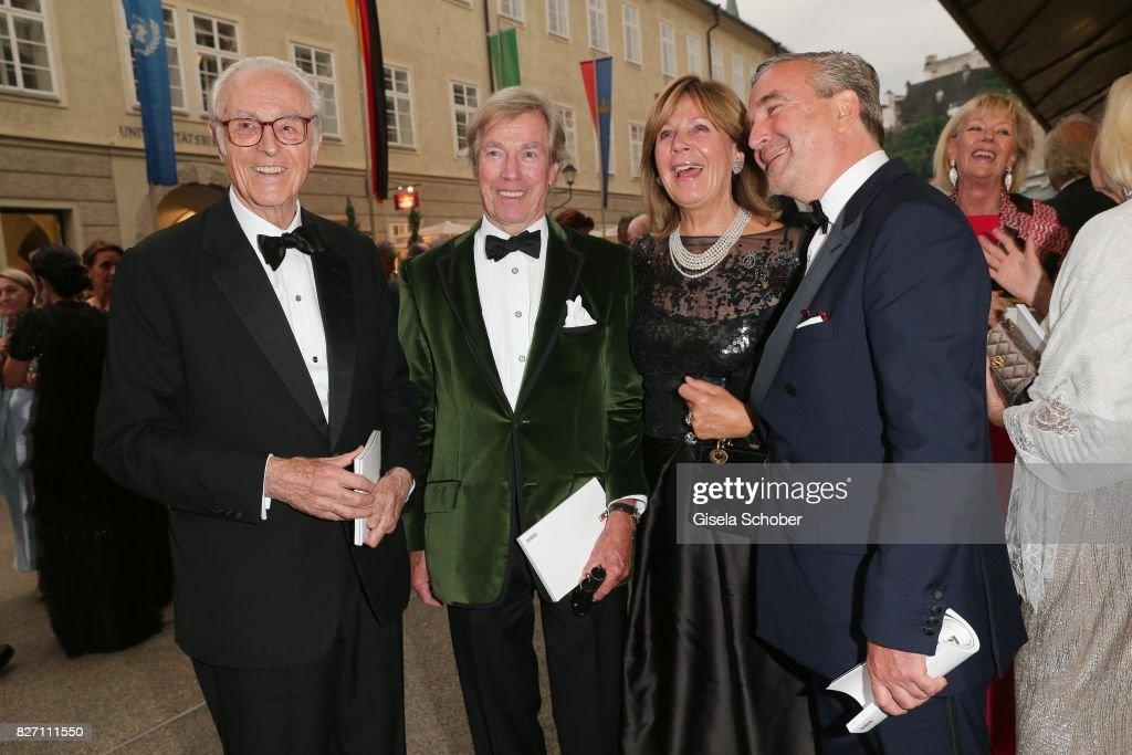 'Aida' Opera Premiere In Salzburg