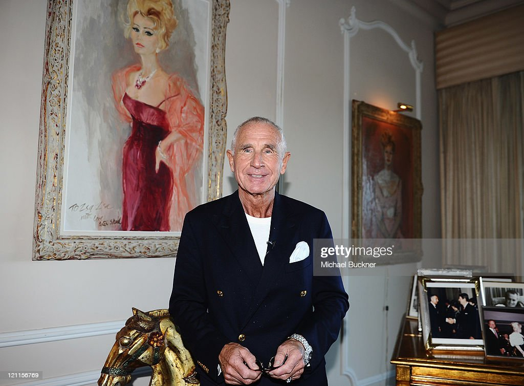 Prince Frederic von Anhalt celebrates the 25th wedding anniversary of Zsa Zsa Gabor and Prince Frederic von Anhalt at their home on August 14, 2011 in Los Angeles, California.
