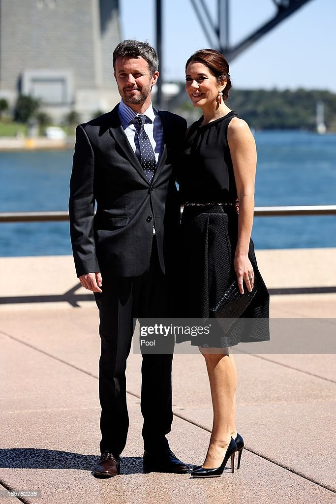 <a gi-track='captionPersonalityLinkClicked' href=/galleries/search?phrase=Prince+Frederik+of+Denmark&family=editorial&specificpeople=171286 ng-click='$event.stopPropagation()'>Prince Frederik of Denmark</a> and Princess Mary of Denmark attend the launch of 'MADE' and 'Architecture Makes the City' at the Sydney Opera House on October 25, 2013 in Sydney, Australia. Prince Frederik and Princess Mary will visit Sydney for five days and will attend events to celebrate the 40th anniversary of the Sydney Opera House and the Danish architect who designed the landmark, Jorn Utzen.