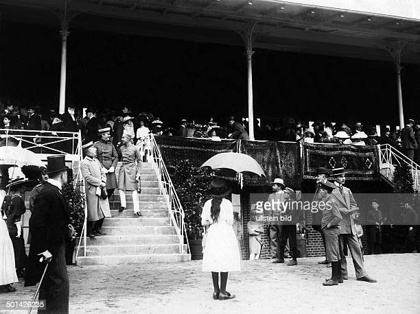 Prince Friedrich Wilhelm of Hohenzollern Eldest son of German Emperor Wilhelm II Crown Prince 1918 The Crown Prince and his wife Cecilie attending...