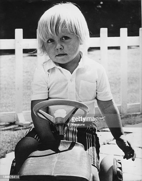 Prince Friso of OrangeNassau photographed by his father around his third birthday September 1971