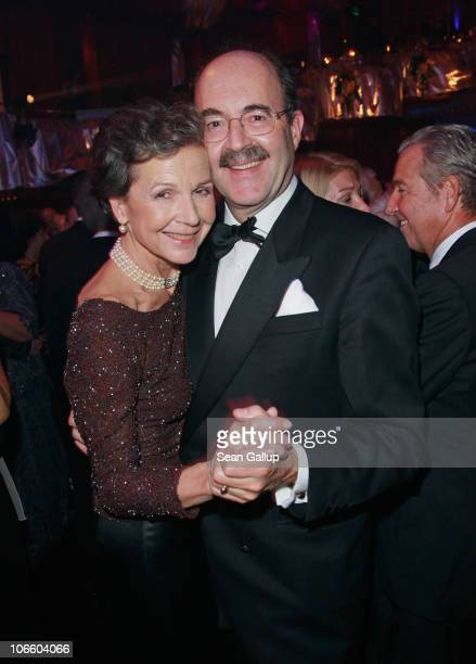 Prince Fritz von Thurn und Taxis and his wife Bea attend the Sportpresseball 2010 at Alte Oper on November 6 2010 in Frankfurt am Main Germany