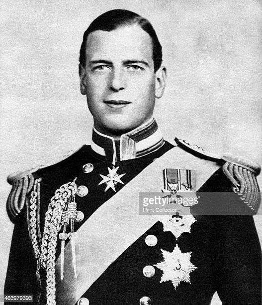 Prince George Duke of Kent c1936 The Duke of Kent was a member of the British Royal Family the fourth son of King George V Illustration from George V...