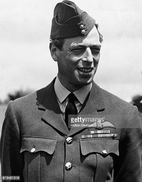 Prince George Duke of Kent shortly after joining the Royal Air Force as a Group Captain