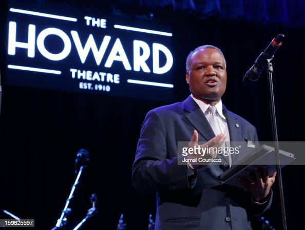 Prince George's County Executive Rushern Baker speaks at the 2013 HOPE Inaugural Youth Ball at the Howard Theatre on January 20 2013 in Washington DC