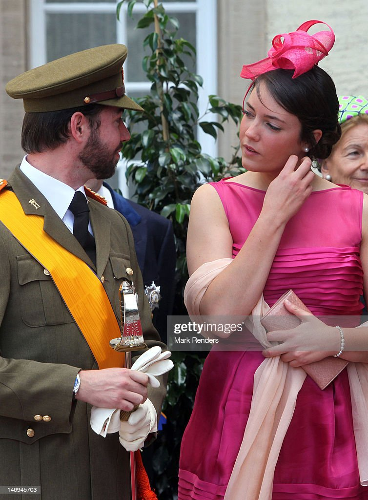 Prince Guillaume and Princess Alexandra of Luxembourg assist National Day Celebrations on June 23, 2012 in Luxembourg, Luxembourg.