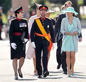 The Sovereign's Parade At Sandhurst
