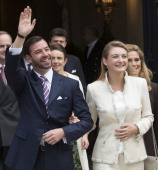 The Wedding Of Prince Guillaume Of Luxembourg & Stephanie de Lannoy - Civil Ceremony