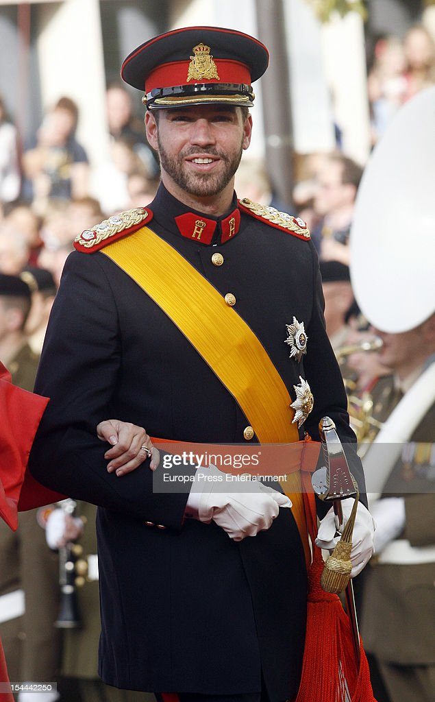 Prince Guillaume Of Luxembourg arrives for his wedding ceremony to Countess Stephanie de Lannoy at the Cathedral of our Lady of Luxembourg on October 20, 2012 in Luxembourg, Luxembourg. The 30-year-old hereditary Grand Duke of Luxembourg is the last hereditary Prince in Europe to get married, marrying his 28-year old Belgian Countess bride in a lavish 2-day ceremony.
