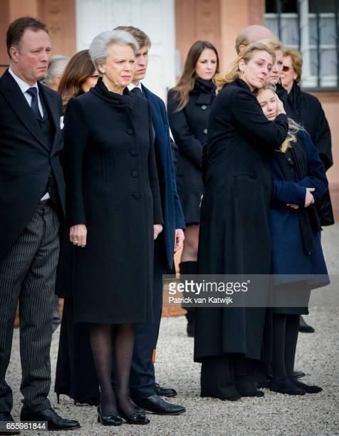 Prince Gustav zu SaynWittgensteinBerleburg Princess Benedikte of Denmark Count Richard Princess Alexandra zu SaynWittgensteinBerleburg Countess...