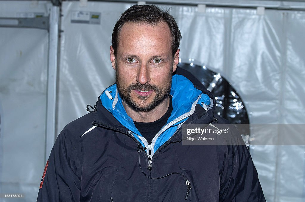 Crown Prince Haakon Magnus Of Norway Attends The World Freestyle Ski Championships