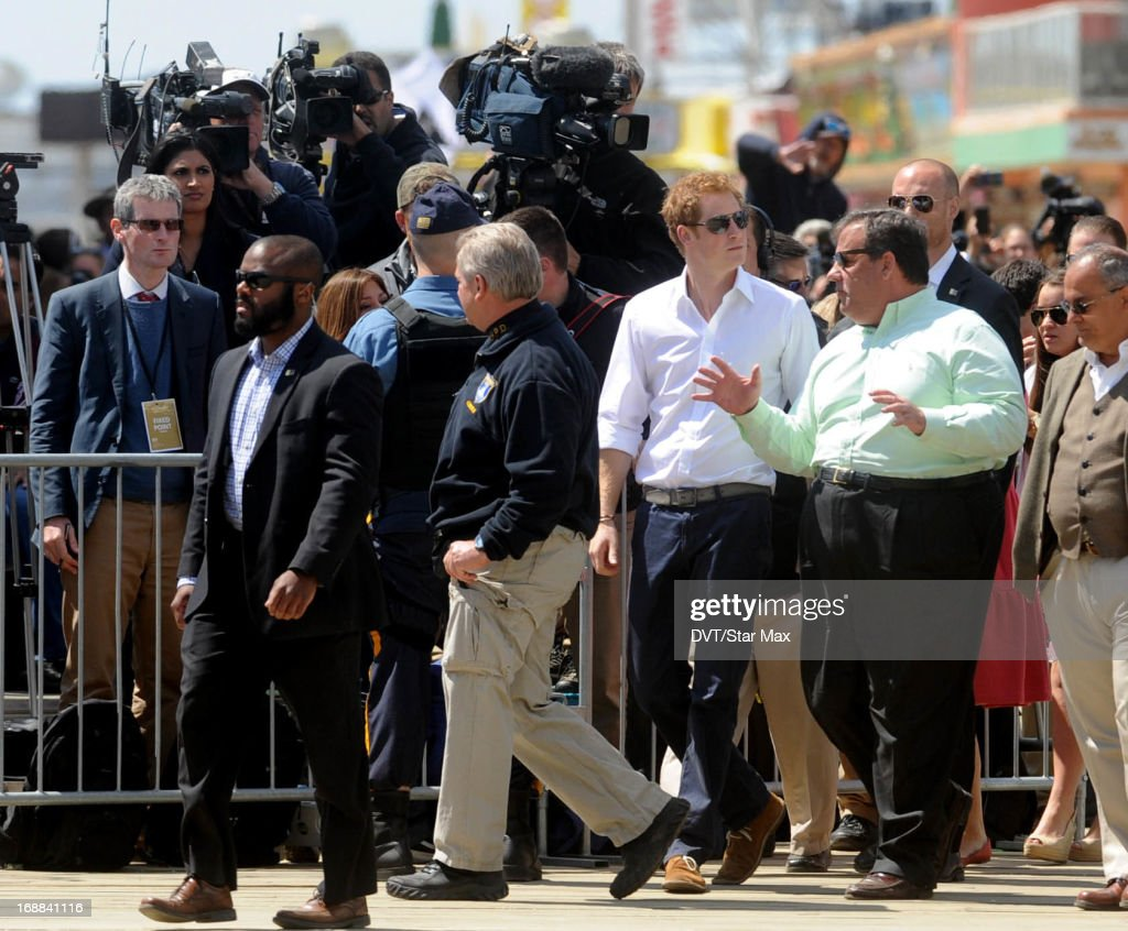 <a gi-track='captionPersonalityLinkClicked' href=/galleries/search?phrase=Prince+Harry&family=editorial&specificpeople=178173 ng-click='$event.stopPropagation()'>Prince Harry</a> and Governor <a gi-track='captionPersonalityLinkClicked' href=/galleries/search?phrase=Chris+Christie&family=editorial&specificpeople=6480114 ng-click='$event.stopPropagation()'>Chris Christie</a> as seen on May 14, 2013 in New York City.