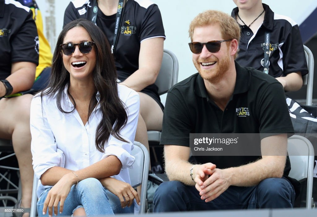 A Look Back At Prince Harry And Meghan Markle's First Public Outing Together in September