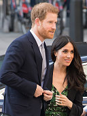 Prince Harry And Ms. Meghan Markle Attend Invictus...