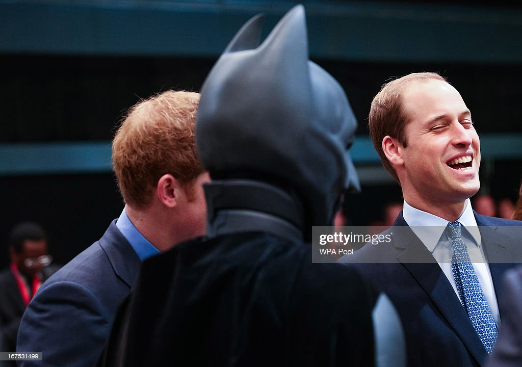 Prince Harry and Prince William, Duke of Cambridge attend the Inauguration Of Warner Bros. Studios Leavesden on April 26, 2013 in London, England.