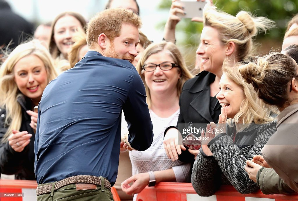 Prince Harry visits North East with Heads Together