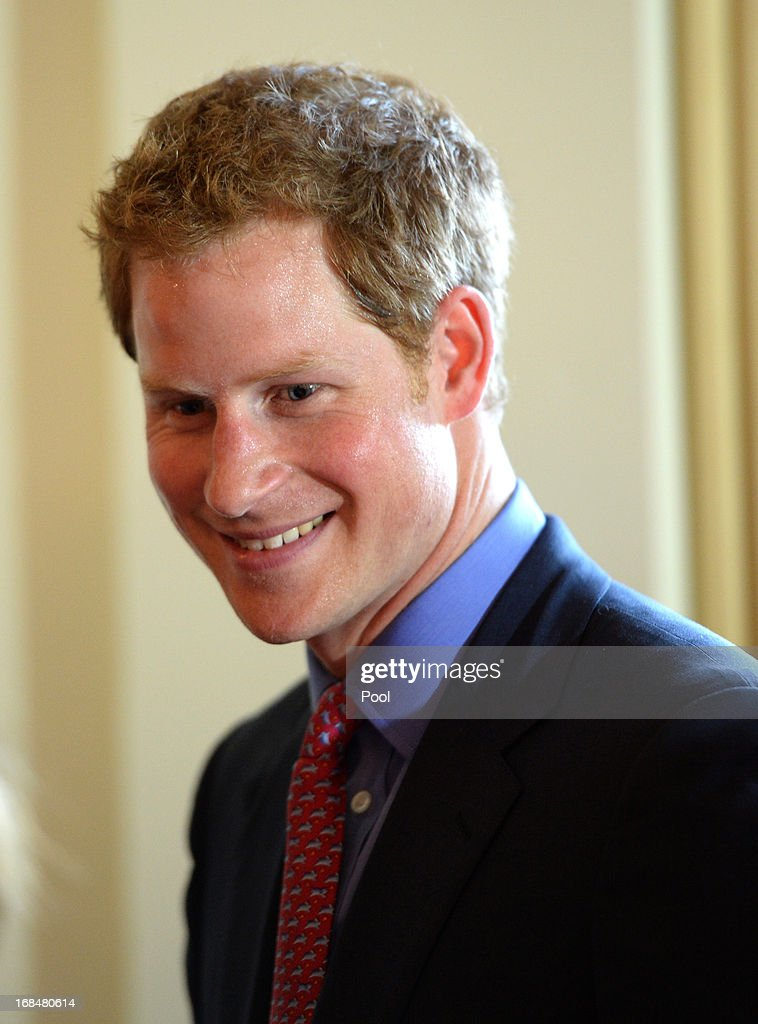 Prince Harry attends a dinner at the British Ambassador's residence on May 9, 2013 in Washington, DC. HRH Prince Harry will be undertaking engagements on behalf of charities with which the Prince is closely associated on behalf also of HM Government, with a central theme of supporting injured service personnel from the UK and US forces.
