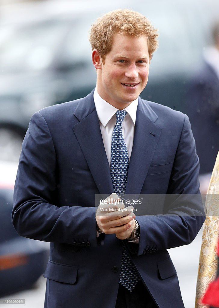 <a gi-track='captionPersonalityLinkClicked' href=/galleries/search?phrase=Prince+Harry&family=editorial&specificpeople=178173 ng-click='$event.stopPropagation()'>Prince Harry</a> attends a National Service of Thanksgiving to celebrate the life of Nelson Mandela at Westminster Abbey on March 3, 2014 in London, England.