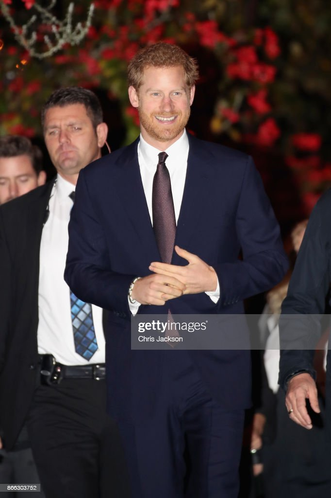 Prince Harry attends an evening reception at Nimb Hotel, Tivoli Gardens on October 25, 2017 in Copenhagen, Denmark.