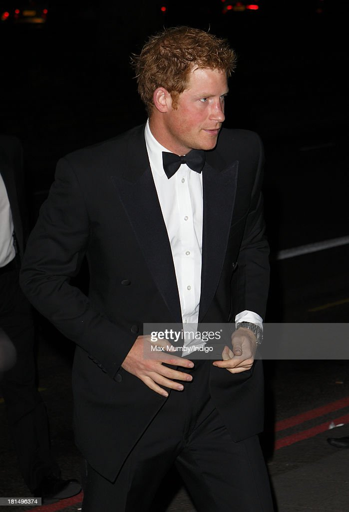 <a gi-track='captionPersonalityLinkClicked' href=/galleries/search?phrase=Prince+Harry&family=editorial&specificpeople=178173 ng-click='$event.stopPropagation()'>Prince Harry</a> attends the Boodles Boxing Ball at the Grosvenor House Hotel on September 21, 2013 in London, England.