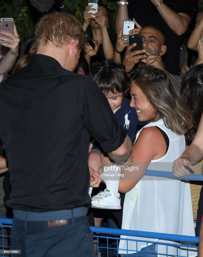 Prince Harry attends the Invictus Games Foundation reception at CN Tower on September 26, 2017 in Toronto, Canada. The Games use the power of sport to inspire recovery, support rehabilitation and generate a wider understanding and respect for the Armed Forces.