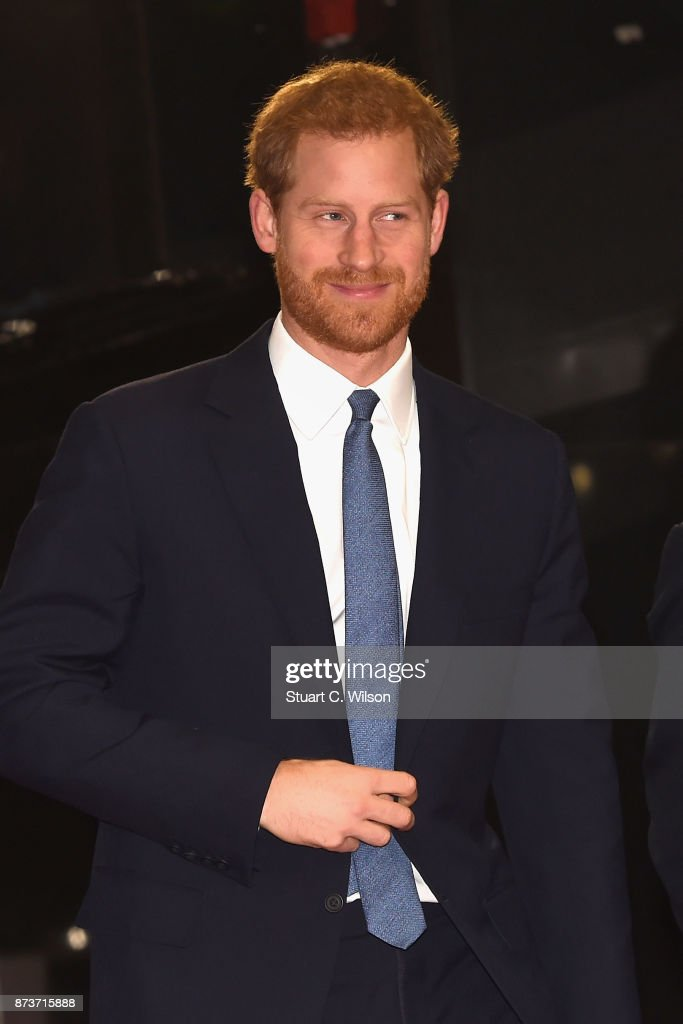 Prince Harry attends the Virgin Money Giving Mind Media Awards