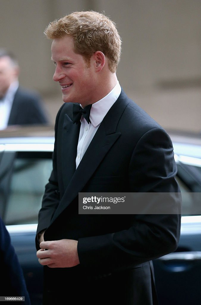 <a gi-track='captionPersonalityLinkClicked' href=/galleries/search?phrase=Prince+Harry&family=editorial&specificpeople=178173 ng-click='$event.stopPropagation()'>Prince Harry</a> attends the Walking With The Wounded Crystal Ball Gala Dinner at The Grosvenor House Hotel on May 30, 2013 in London, England.