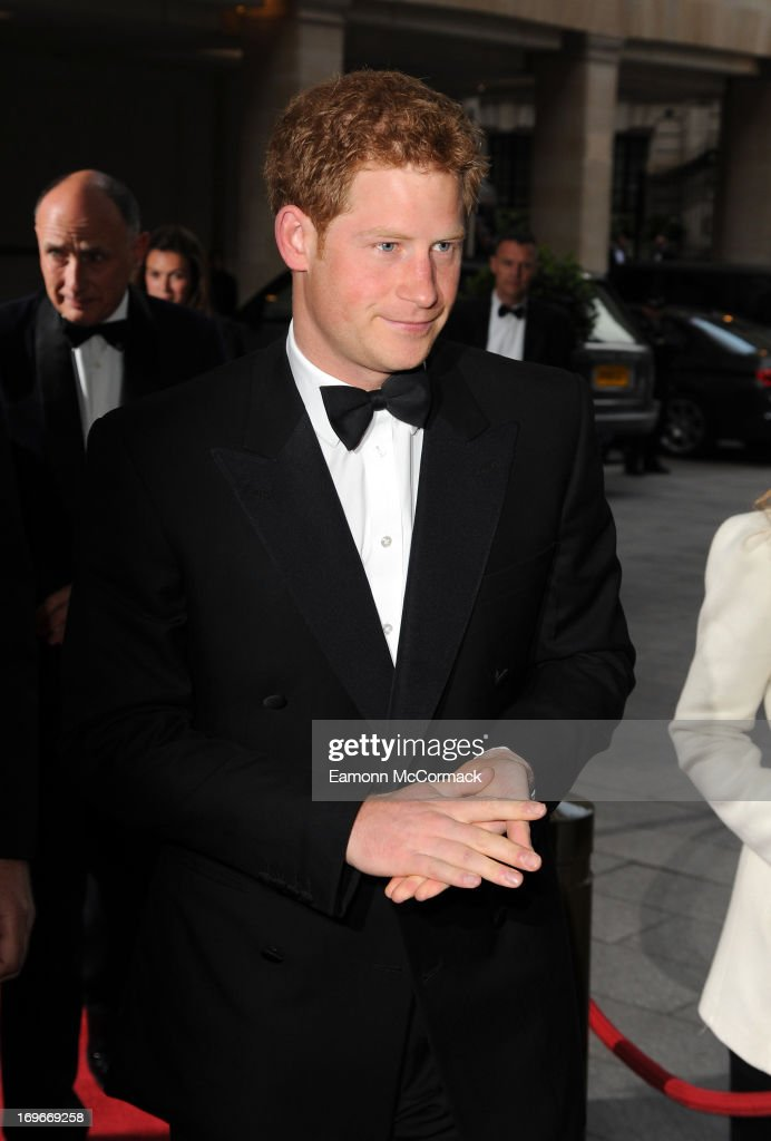 <a gi-track='captionPersonalityLinkClicked' href=/galleries/search?phrase=Prince+Harry&family=editorial&specificpeople=178173 ng-click='$event.stopPropagation()'>Prince Harry</a> attends Walking With The Wounded Crystal Ball Gala Dinner at The Grosvenor House Hotel on May 30, 2013 in London, England.