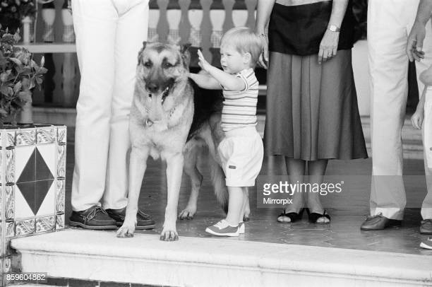 Prince Harry befriends the family dog Rest of this picture set Princess DianaThe Princess of Wales and her husband Prince Charles The Prince of Wales...