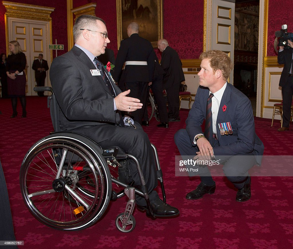 Prince Harry Attends The Service Of Remembrance And Re