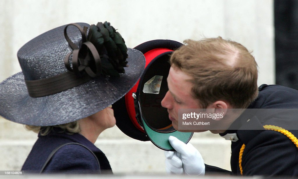 Prince Harry Commissioned As Second Lieutenant At His Passing Out Ceremony At The Sovereign'S Day Parade At The Royal Military Academy, Sandhurst.Prince William & The Duchess Of Cornwall Attend. .