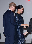The Duke And Duchess Of Sussex Attend The Cirque du...