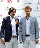 The Duke Of Sussex Attends 2019 Sentebale ISPS Handa...