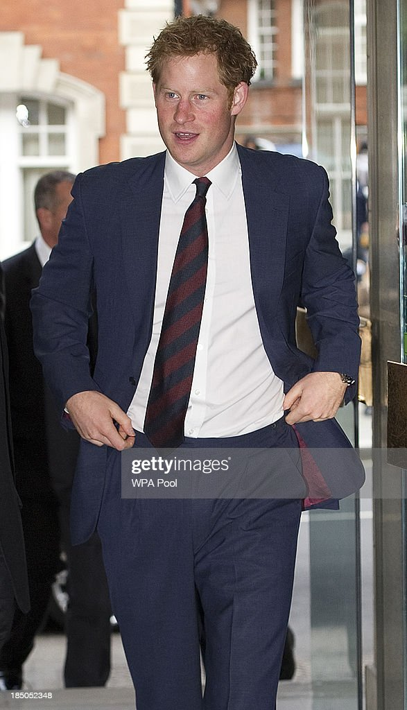 <a gi-track='captionPersonalityLinkClicked' href=/galleries/search?phrase=Prince+Harry&family=editorial&specificpeople=178173 ng-click='$event.stopPropagation()'>Prince Harry</a> during the official opening of the Royal British Legion Centre for Blast Injury Studies at Imperial College London on October 17 in London, England.