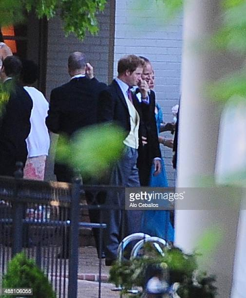 Prince Harry is seen on May 3 2014 in Memphis Tennessee Prince William and Prince Harry are in town for the wedding of their friend British Night...