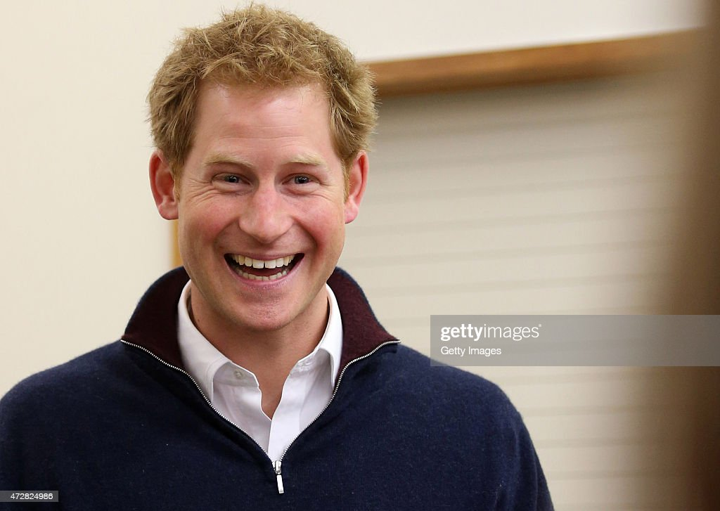 Prince Harry laughs as he attempts to open a Bluff oyster at the Stewart Island Community Centre as part of his first visit to New Zealand on May 10, 2015 in Oban, New Zealand. Prince Harry is in New Zealand from May 9 through to May 16 attending events in Wellington, Invercargill, Stewart Island, Christchurch, Linton, Whanganui and Auckland.
