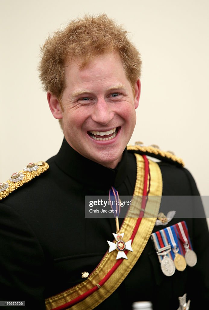 <a gi-track='captionPersonalityLinkClicked' href=/galleries/search?phrase=Prince+Harry&family=editorial&specificpeople=178173 ng-click='$event.stopPropagation()'>Prince Harry</a> meets familes of those who lost their lives in Afghanistan after the unveiling of the Bastion Memorial at The National Memorial Arboretum on June 11, 2015 in Stafford, England.