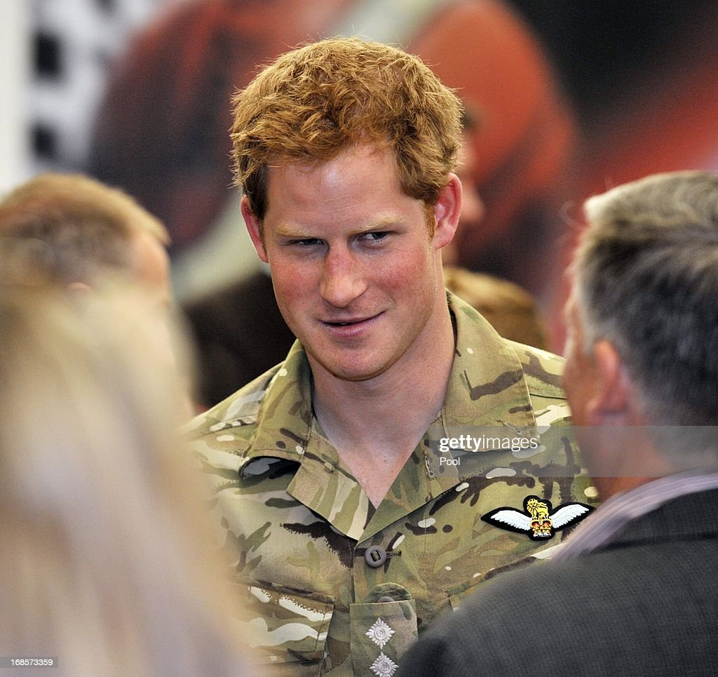 Prince Harry meets key figures from the US Olympic committee at a reception and brunch at the start of the 2013 Warrior Games at the U.S. Olympic Training Center on May 11, 2013 in Colorado Springs, Colorado. HRH will be undertaking engagements on behalf of charities with which the Prince is closely associated on behalf also of HM Government, with a central theme of supporting injured service personnel from the UK and US forces.