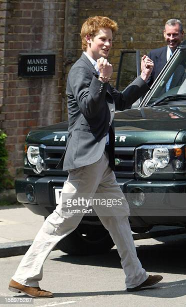 Prince Harry On His Last Day At Eton College