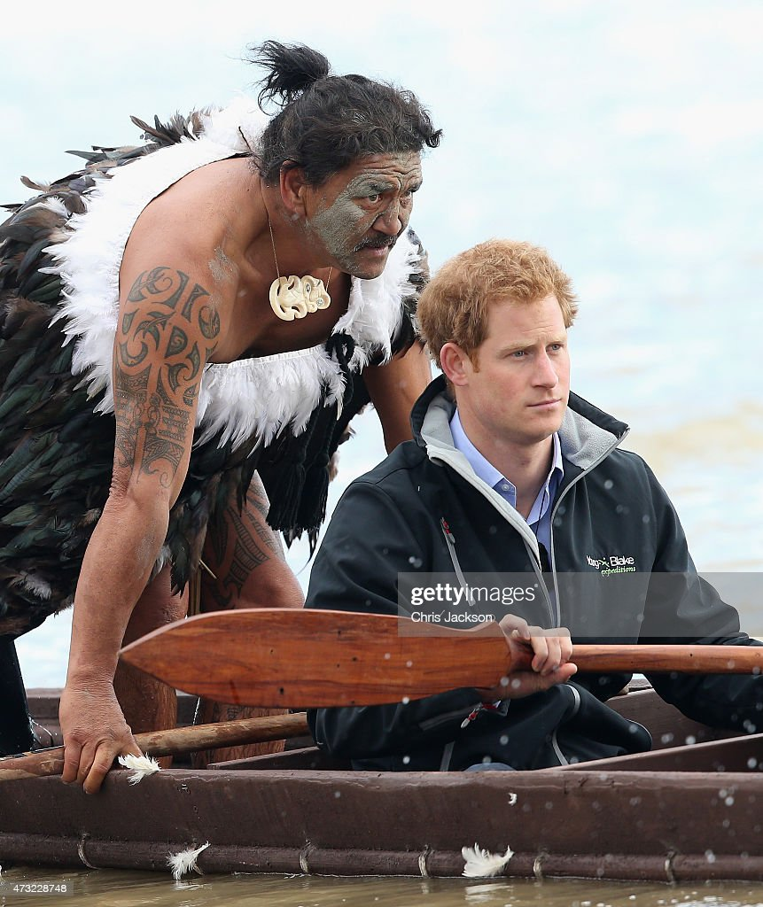 Prince Harry Visits New Zealand - Day 6