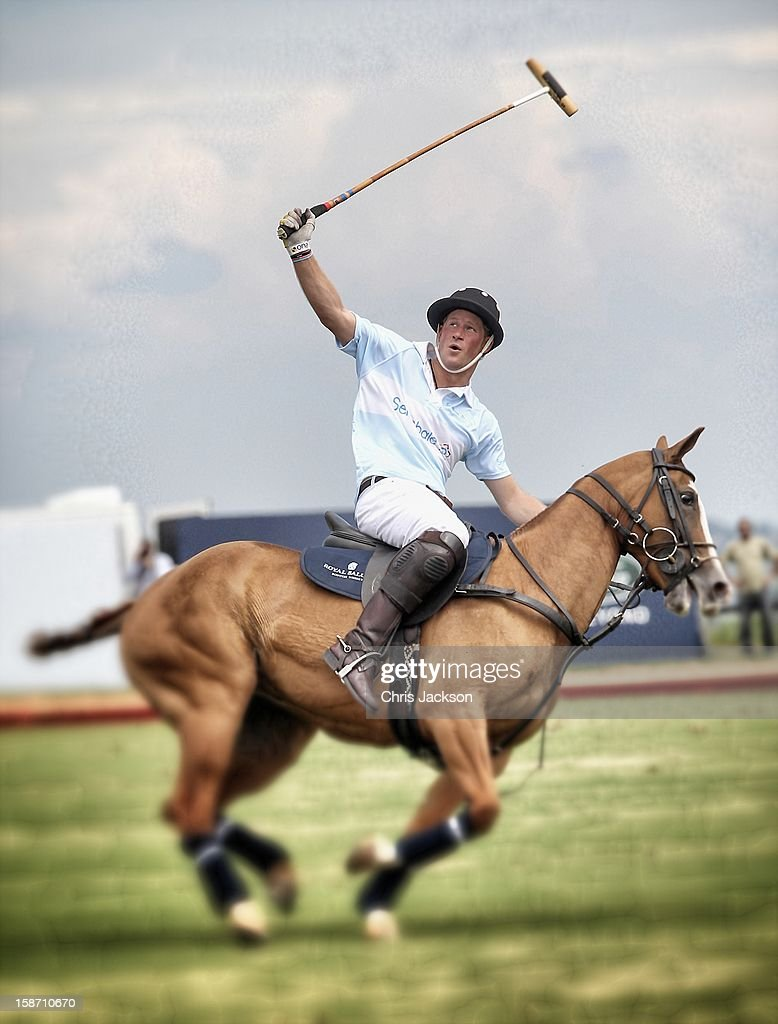<a gi-track='captionPersonalityLinkClicked' href=/galleries/search?phrase=Prince+Harry&family=editorial&specificpeople=178173 ng-click='$event.stopPropagation()'>Prince Harry</a> plays polo for the Sentebale team at the Sentebale Royal Salute Polo Cup 2012 on March 11, 2012 in Campinas, Sao Paulo State, Brazil. The 2012 Sentebale Royal Salute Polo Cup closes <a gi-track='captionPersonalityLinkClicked' href=/galleries/search?phrase=Prince+Harry&family=editorial&specificpeople=178173 ng-click='$event.stopPropagation()'>Prince Harry</a>'s Official Tour of Brazil. Sentebale was founded by <a gi-track='captionPersonalityLinkClicked' href=/galleries/search?phrase=Prince+Harry&family=editorial&specificpeople=178173 ng-click='$event.stopPropagation()'>Prince Harry</a> and Prince Seeiso from the Lesotho Royal family in response to the plight of the neediest and most vulnerable of Lesotho's children.